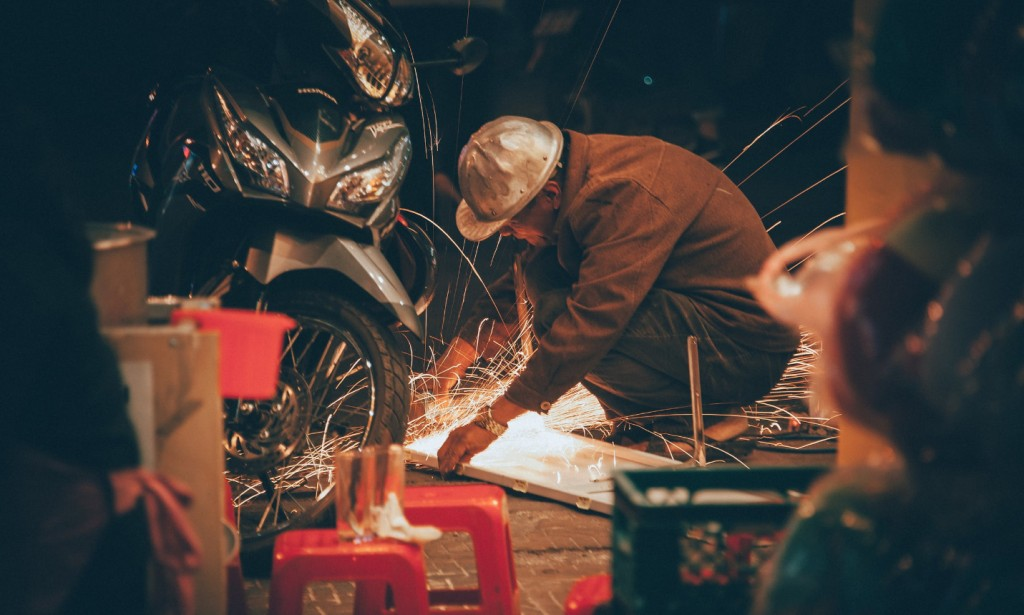 motorcycle and welding